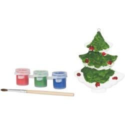 Set con albero di Natale da...