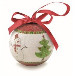 Palla di Natale in scatola...