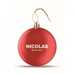 Palla di Natale piatta LIA...