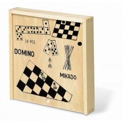Set giochi 4in1 in legno...