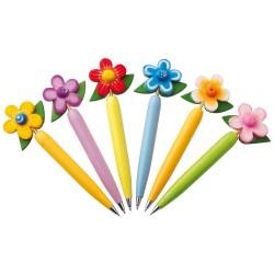 Penna a sfera fiore, vari...