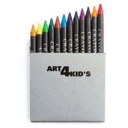 Set 12 colori a cera,...
