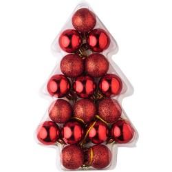Set di palline di Natale...
