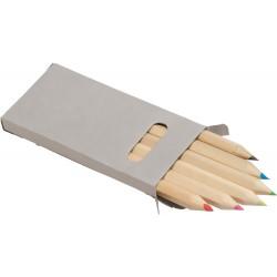 Set 6 matite in legno corte...