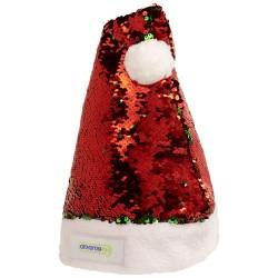 Cappello di Natale Sequins...