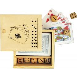 Gioco 52 carte e 5 dadi